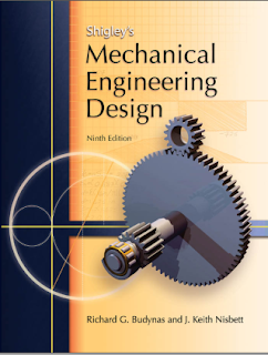 Mechanical Engineering Design, By- Shigley's