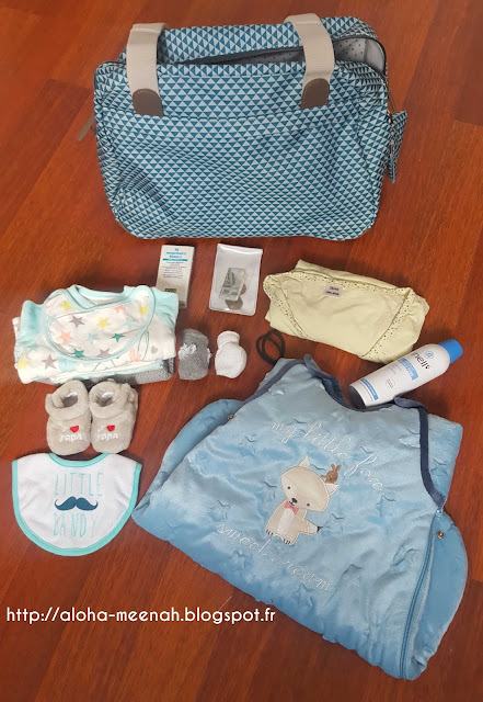 meenah valise de maternit. Black Bedroom Furniture Sets. Home Design Ideas