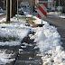 Winterlich glatte Straßen in der Region