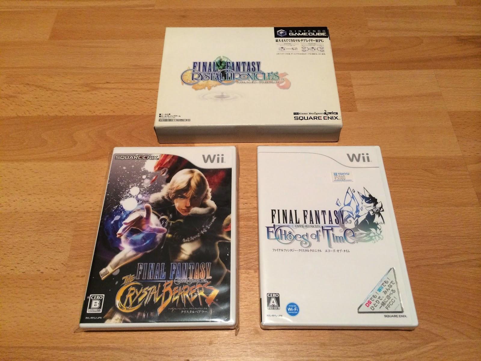 Full Set Jap : all 156 Final Fantasy Games for Japan ! | Final
