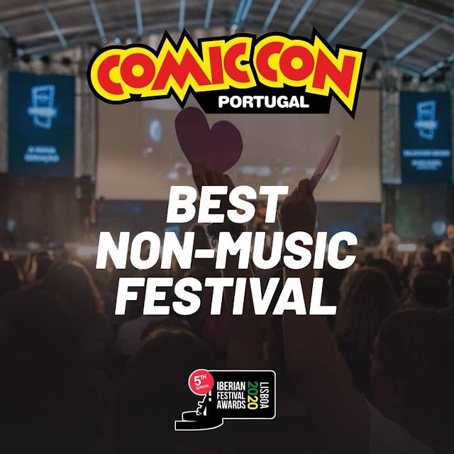 COMIC CON PORTUGAL 2019 - VENCEDORA BEST NON-MUSICAL FESTIVAL