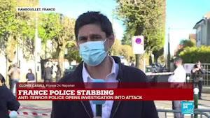 """França: Muçulmano tunisino degola mulher polícia aos gritos de """"Allahu Akbar"""""""