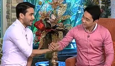 Atom Araullo last day on Umagang Kay Ganda with co host Anthony Taberna