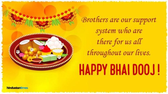 Best Free Download Bhai Dooj Greetings , wishes what's app Status on AmoZoni