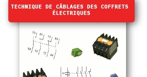 Technique de c blages des coffrets lectriques pour les - Technique de cablage des armoires electriques ...
