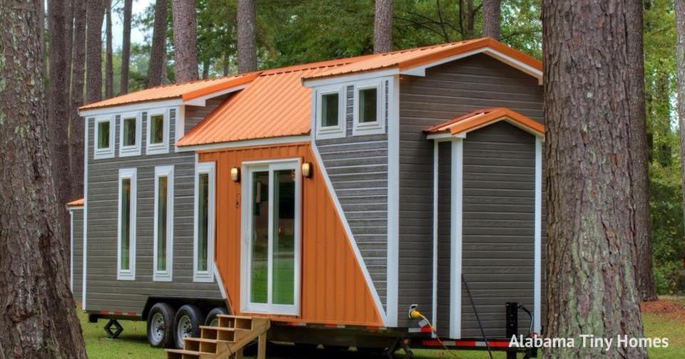 Harvard Designed Tiny Homes: TINY HOUSE TOWN: The Trinity From Alabama Tiny Homes