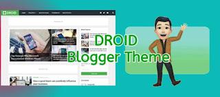 Droid Premium Blogger Templete Free Download : Best Blogger Theme 2020
