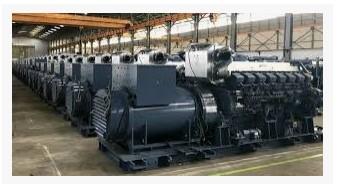 Proses Produksi listrik dengan  Disel pltd