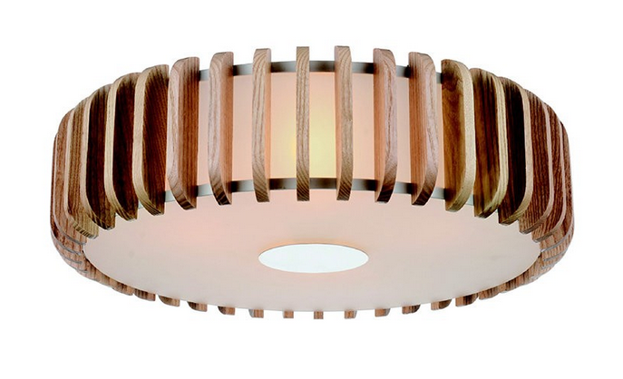 If I Was Picking Something For The Main House This Gl And Wood Flush Mount Fixture Would Help Create Mid Century Mod Feel Covet