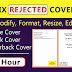 I will fix, modify, resize, edit, design book cover, ebook cover, amazon KDP cover
