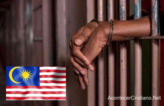 Cristiano arrestado en Malasia