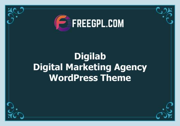 Digilab – Digital Marketing Agency WordPress Theme Free Download