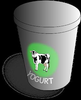 Yogurt mempunyai rasa asam