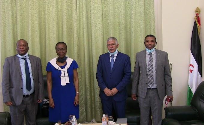 Dos delegaciones africanas de alto nivel visitaron la embajada de la RASD en Argel para felicitar al presidente Ghali por su mejoría clínica.