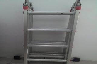 Tangga Lipat Aluminium 4 Meter