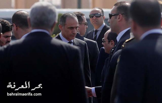 عزاء الرئيس الأسبق محمد حسني مبارك