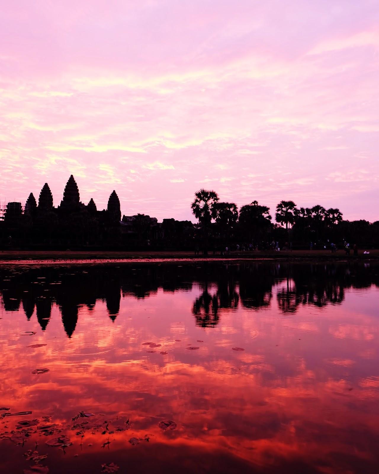 Angkor Wat Sunrise 2016