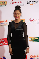 Vennela in Transparent Black Skin Tight Backless Stunning Dress at Mirchi Music Awards South 2017 ~  Exclusive Celebrities Galleries 044.JPG
