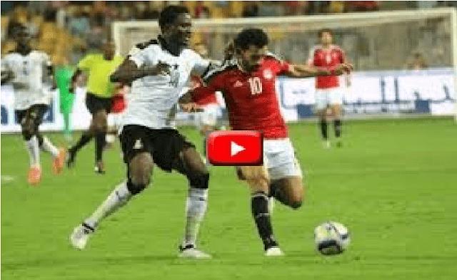 مشاهدة مبارة مصر وصلاح ضد غينيا بث مباشر يلا شوت