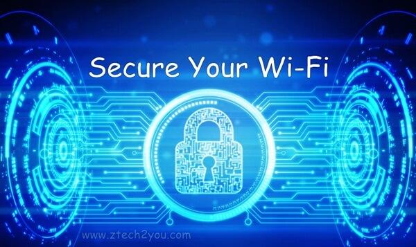 طرق تامين وحماية شبكة الواي فاي Wi Fi الخاصة بك ومنع اي شخص