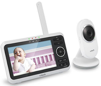 VTech VM 350 video baby monitor with a 5-inch screen