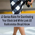 10 Genius Rules For Coordinating Your Black And White Look: All Fashionistas Should Know