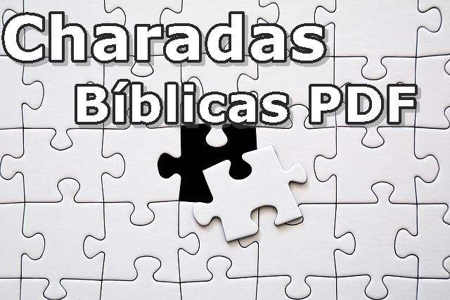 Charadas Bíblicas em PDF