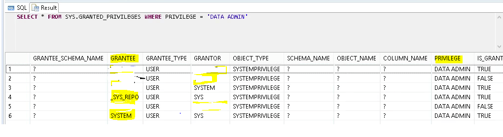 list-all-users-with-system-privileges-in-sap-hana