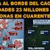 """China al borde del caos: """"7 ciudades, 23 millones de personas en cuarentena"""" por corona virus"""