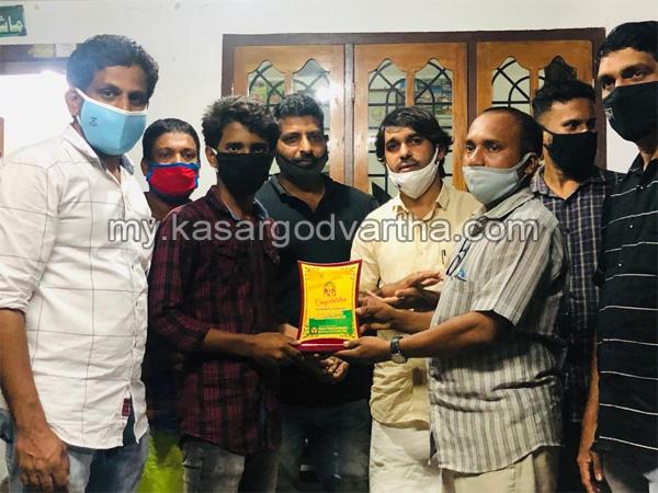 Kerala, News, Mogral, Sslc, Youth congress, SSLC winners felicitated by youth congress