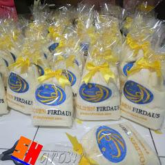 souvenir promosi handuk bordir kemasan plastik