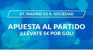 Mondobets promocion Atletico vs Real Sociedad 19-7-2020