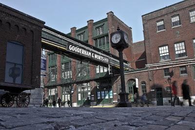 Historic Distillery District of Toronto