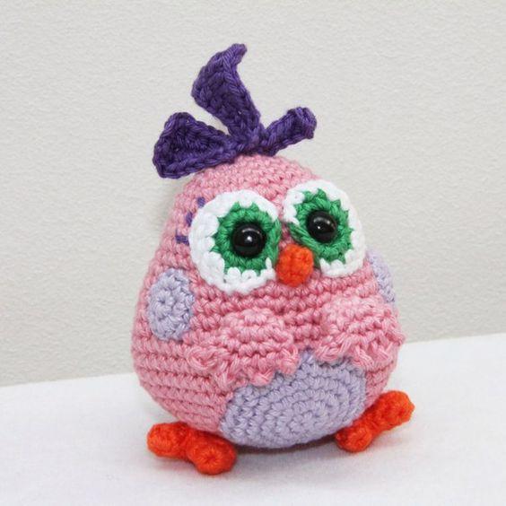 Häkelblog Täglich Neue Anleitungen Angry Bird Häkelanleitung
