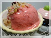 sorbet aux fruits rouges sans lactose au monsieur cuisine