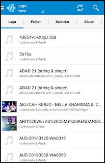 Cara Mengganti Nama File Lagu MP3 di Android 2