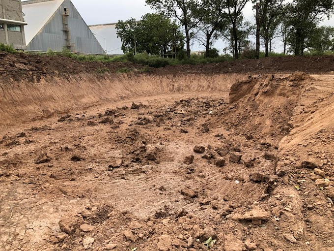Desmontaron y excavaron de manera clandestina una zona La Ribera y Paraná para venta de tierra