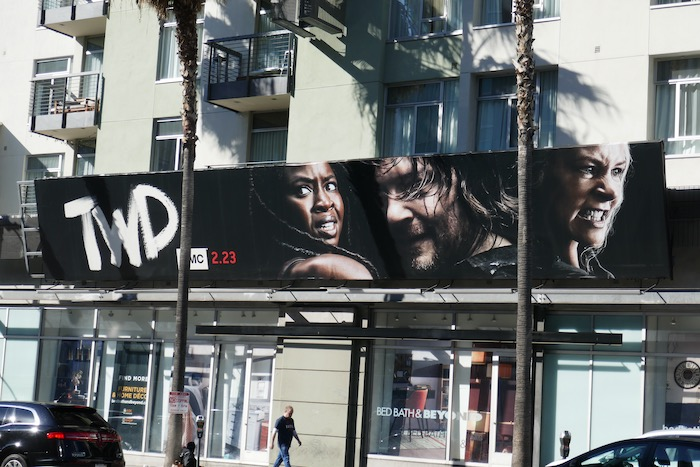 Walking Dead midseason 10 billboard