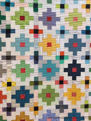 Modern Mystery' quilt through Tikki London,  quilted by Frances Meredith at Fabadashery Longarm Quilting df