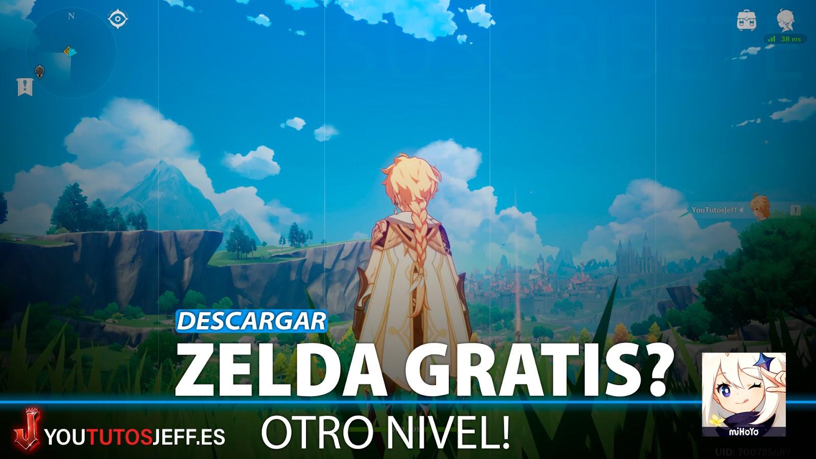 Descargar Genshin Impact Para Pc Gratis Igual Que Zelda
