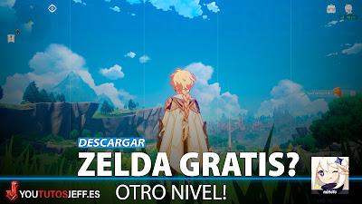 Descargar Genshin Impact para PC GRATIS, Igual que Zelda?