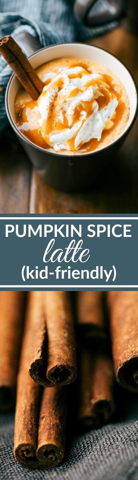 Kid-Friendly Pumpkin Spice Latte (No Coffee)