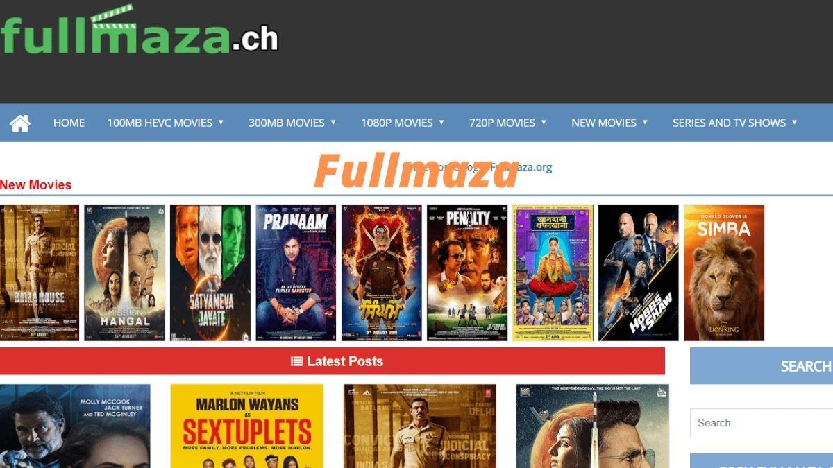 Fullmaza 2020: Fullmaza Downoad Latest 300MB hindi Movies HD illegally, Fullmaza Online Movies