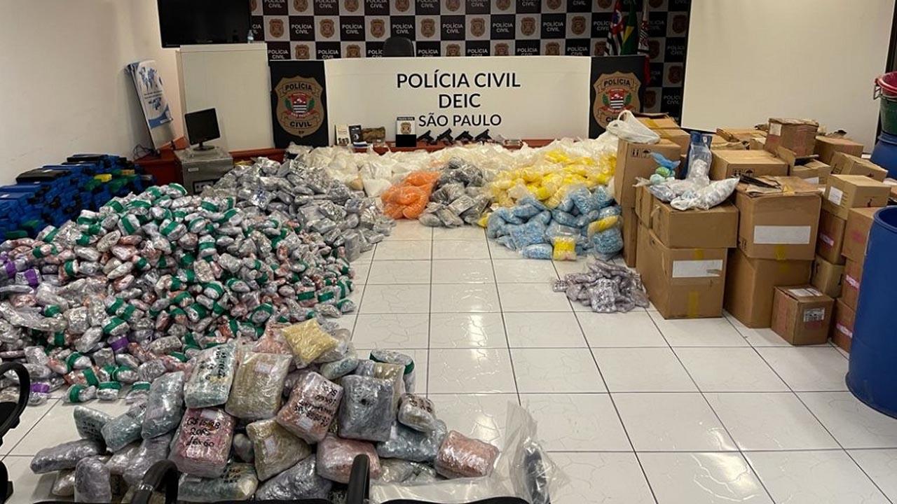 Deic desmantela esquema gigante de de produção distribuição de drogas em Cerquilho
