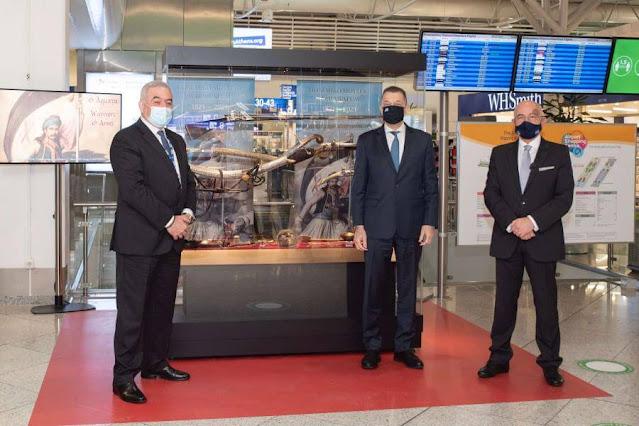 Εγκαίνια Έκθεσης του Πολεμικού Μουσείου στον Διεθνή Αερολιμένα Αθηνών «Ελευθέριος Βενιζέλος»