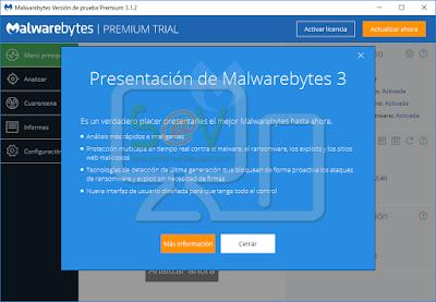 Presentación Malwarebytes