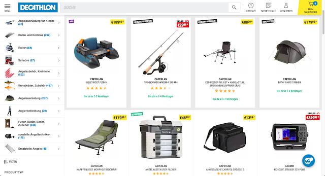 Decathlon Angelausrüstung kaufen | Webshop