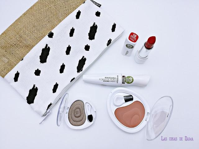 Deborah Milano Fórmula Pura Maquillaje makeup natural beauty ojos labios blush