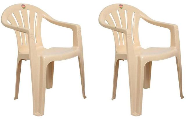 Cello Capri Chair Set Pack of 2 - Beige