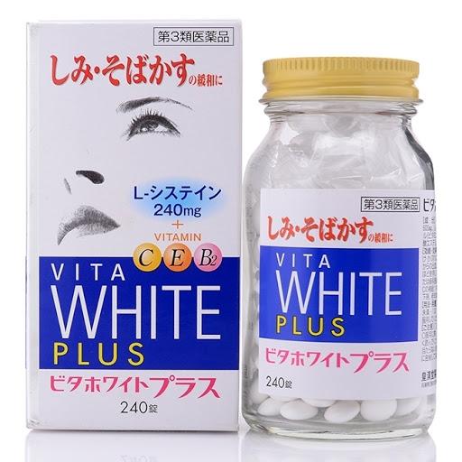 vien uong trang da Vita White Plus